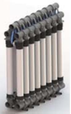 通用电气水处理与工艺过程处理集团:无机架超滤膜系统ZW1500-RMS