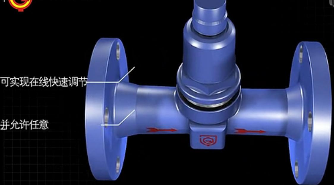 视频   波纹管式疏水阀视频拆解动画