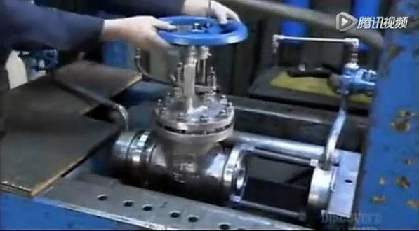 比人还大的大型阀门是怎么制造出来的?