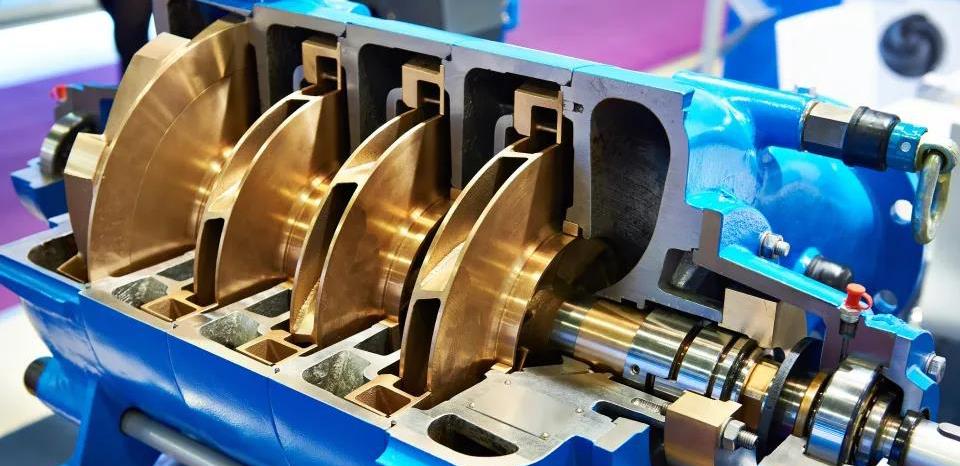 检查立式离心泵进口管道漏气的方法